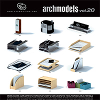 دانلود مجموعه Evermotion Archinteriors Vol 20
