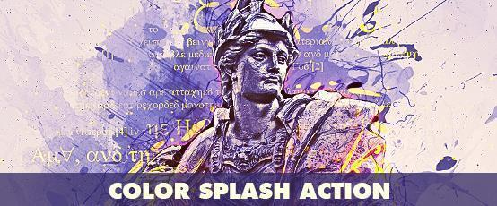 دانلود فیلم آموزشی How to Create a Color Splash Effect in Photoshop