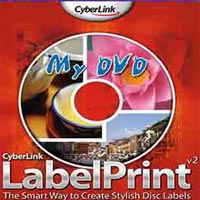 دانلود نرم افزار طراحی و چاپ لیبل سی دی و دی وی دی CyberLink LabelPrint