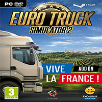 دانلود بازی کامپیوتر Euro Truck Simulator 2 Vive la France نسخه SKIDROW