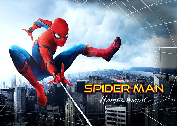 اسکرین Spider-Man Homecoming 2017