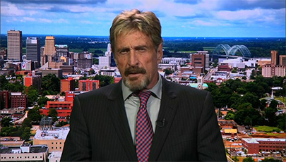 دانلود فیلم مستند The Dangerous Life of John McAfee 2016