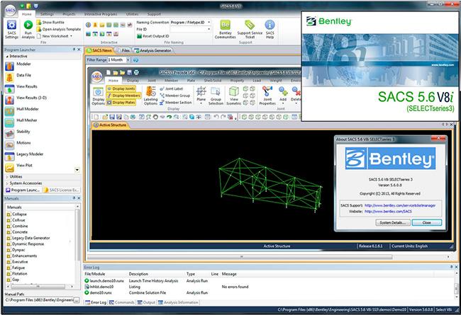 دانلود نرم افزار Bentley SACS CONNECT v12 00 00 01