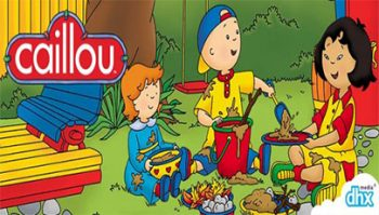 دانلود مجموعه انیمیشن Caillou Family