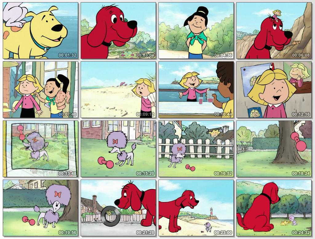 دانلود انیمیشن آموزشی Clifford the Big Red Dog