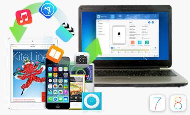 FonePaw iOS Transfer center