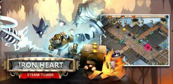 دانلود بازی Iron Heart Steam Tower TD برای ios