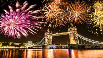 دانلود مراسم New Years Eve Fireworks London 2017