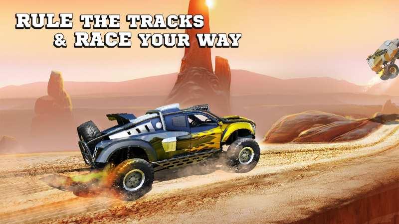 بازی monster truck racing جدید