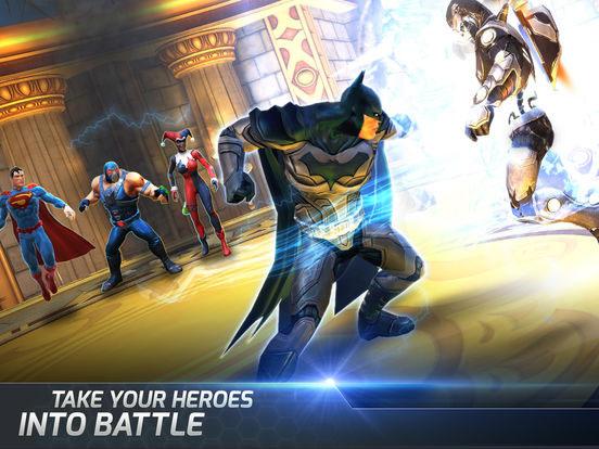 دانلود بازی DC Comics Legends v1.9 برای آيفون ، آيپد و آيپاد لمسی