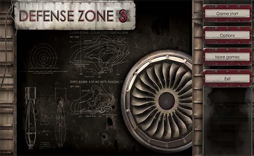 بازی defense zone 3 جدید