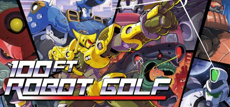 دانلود بازی کامپیوتر 100ft Robot Golf نسخه CODEX