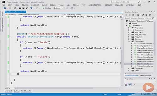 Implementing an API in ASP.NET Web API