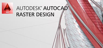 Autodesk AutoCAD Raster Design 2019 - screen