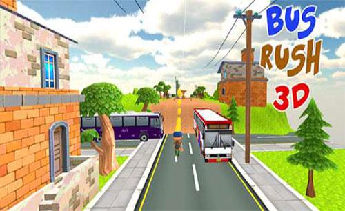 دانلود بازی Bus rush 3D