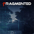 Fragmented logo