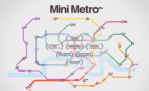دانلود بازی Mini Metro برای اندروید + مود