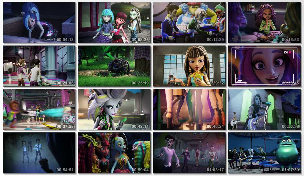 دانلود انیمیشن Monster High Electrified 2017
