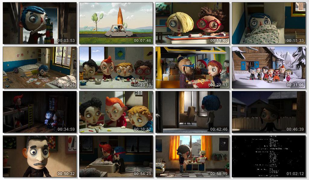 دانلود انیمیشن My Life as a Zucchini 2016
