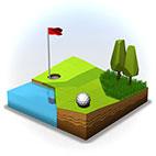 دانلود بازی OK Golf v1.3 برای آيفون ، آيپد و آيپاد لمسی