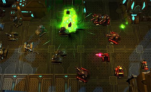 بازی Tanks vs Aliens جدید
