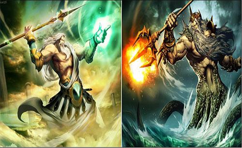 بازی Zeus + Poseidon جدید