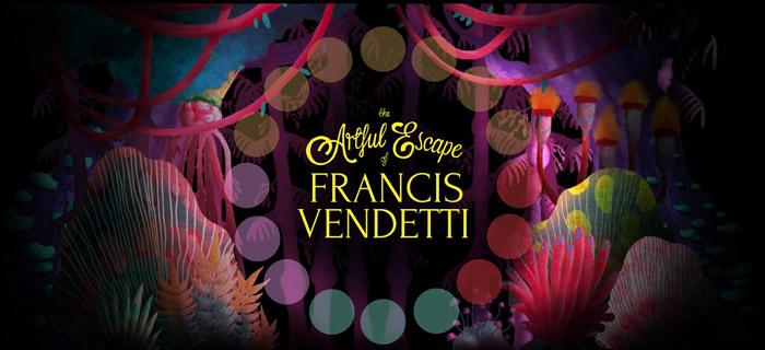 معرفی بازی کامپوتری The Artful Escape Of Francis Vendetti