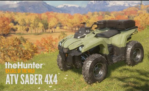 دانلود theHunter Call of the Wild ATV SABER 4X4 جدید