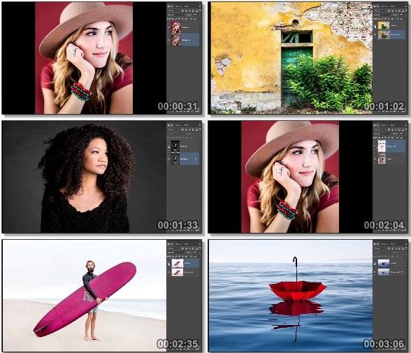 دانلود فیلم آموزشی Photoshop CC 2017 برای عکاسان از Lynda