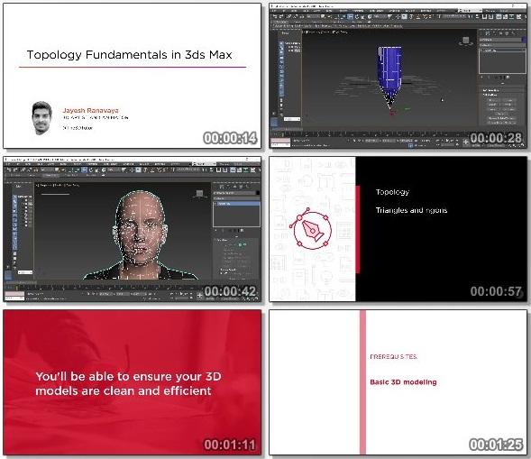 دانلود دوره آموزشی Topology Fundamentals in 3ds Max از Pluralsight
