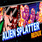 Alien Splatter Redux logo