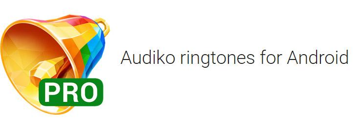 دانلود نرم افزار Audiko ringtones PRO v2.25.27 برای اندروید