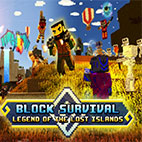 Block Survival Legend of the Lost Islands logo