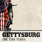 Gettysburg The Tide Turns logo