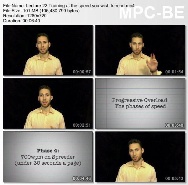 دانلود فیلم آموزشی سریع خوانی و تقویت حافظه پیشرفته از Udemy