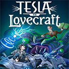 Tesla vs Lovecraft logo