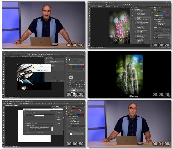 دانلود دوره آموزشی Learning Photoshop Automation از Lynda
