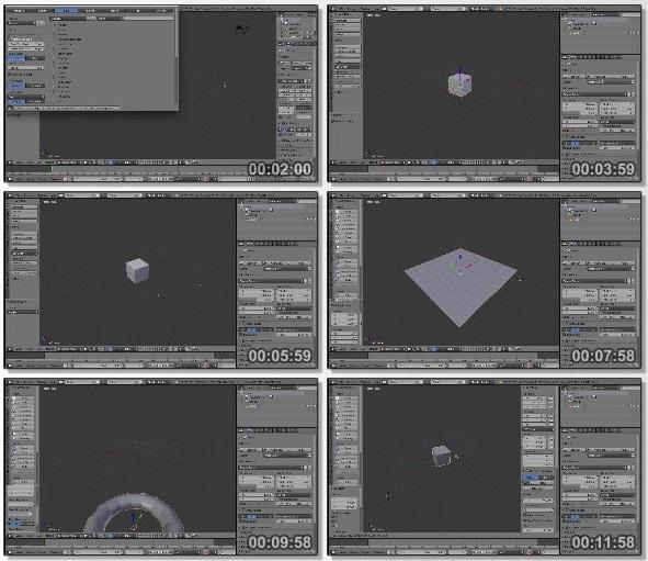 دانلود دوره آموزشی مقدماتی Blender Quickstart - Create a Low poly scene
