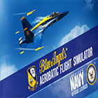 Blue Angels Aerobatic Flight Simulator Logo