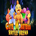 Cute Monsters Battle Arena Logo
