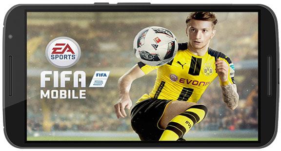 دانلود FIFA Mobile Soccer بازی فوتبال فیفا موبایل 2018 رایگان بدون دیتا نسخه جدید