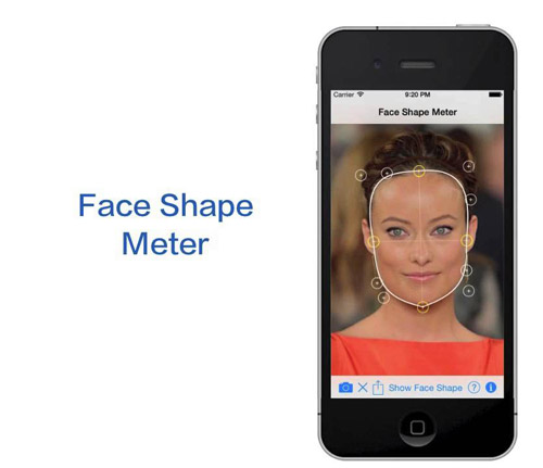 دانلود نرم افزار Face Shape Meter v1.1.4 برای آيفون ، آيپد و آيپاد لمسی