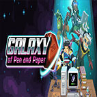 Galaxy of pen and paper logo