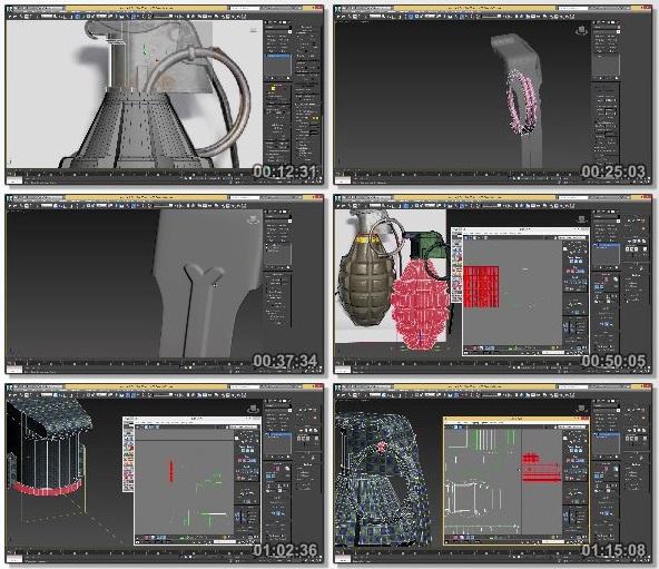 دانلود دوره آموزشی Grenade Tutorial - 3Ds Max & Substance Painter