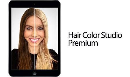 دانلود نرم افزار Hair Color Studio Premium v1.7 برای اندروید