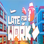 late for work logo