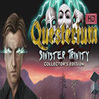 Questerium Sinister Trinity Collectors Edition logo