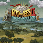 Rock of Ages 2 Bigger and Boulder logo