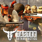 TASTEE Lethal Tactics Map Jurassic Narc logo