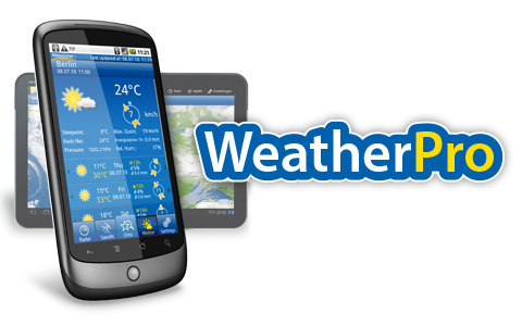 دانلود نرم افزار WeatherPro v4.8.5 برای آيفون ، آيپد و آيپاد لمسی